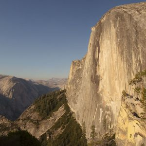 Half Dome from The Diving Board