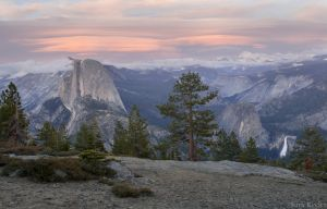 Lenticular Clouds above Half Dome