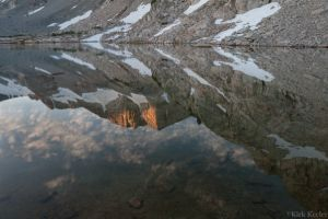 High Sierra Reflection, Townsley Lake, Vogelsang