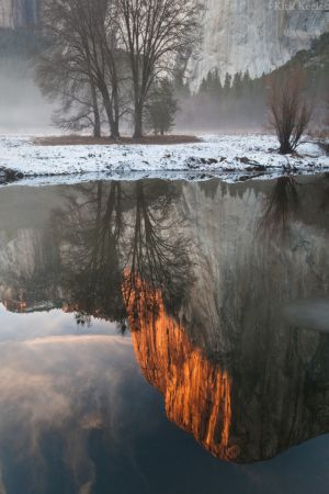 El Capitan Reflection, Merced River