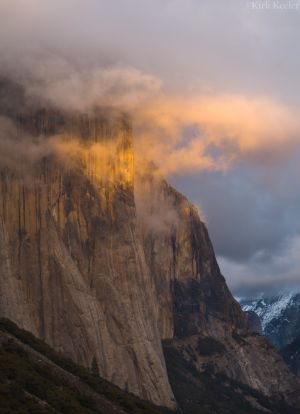 Sunset Clouds, El Capitan